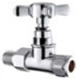 15mm In-Line Chrome Radiator Valve